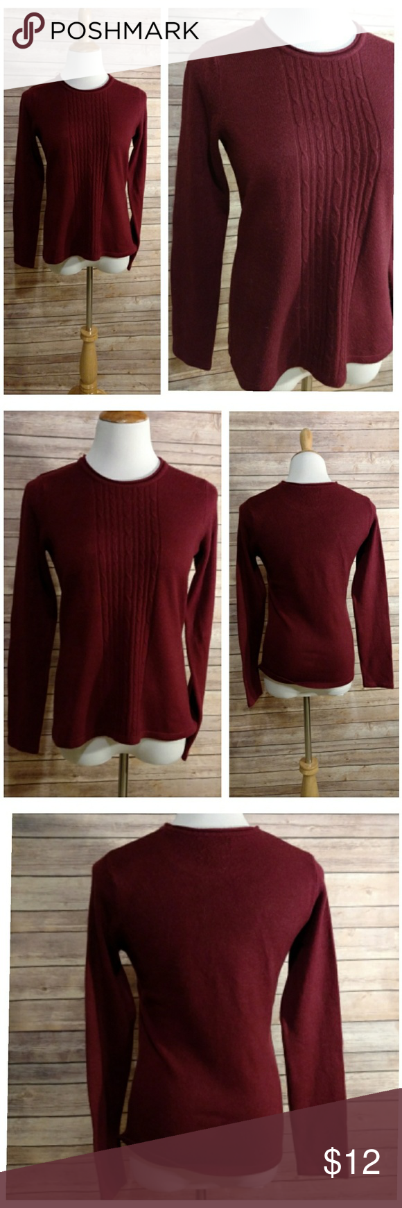 Croft u Barrow  Sweater  Barrow AFC Red sweaters and Dark red