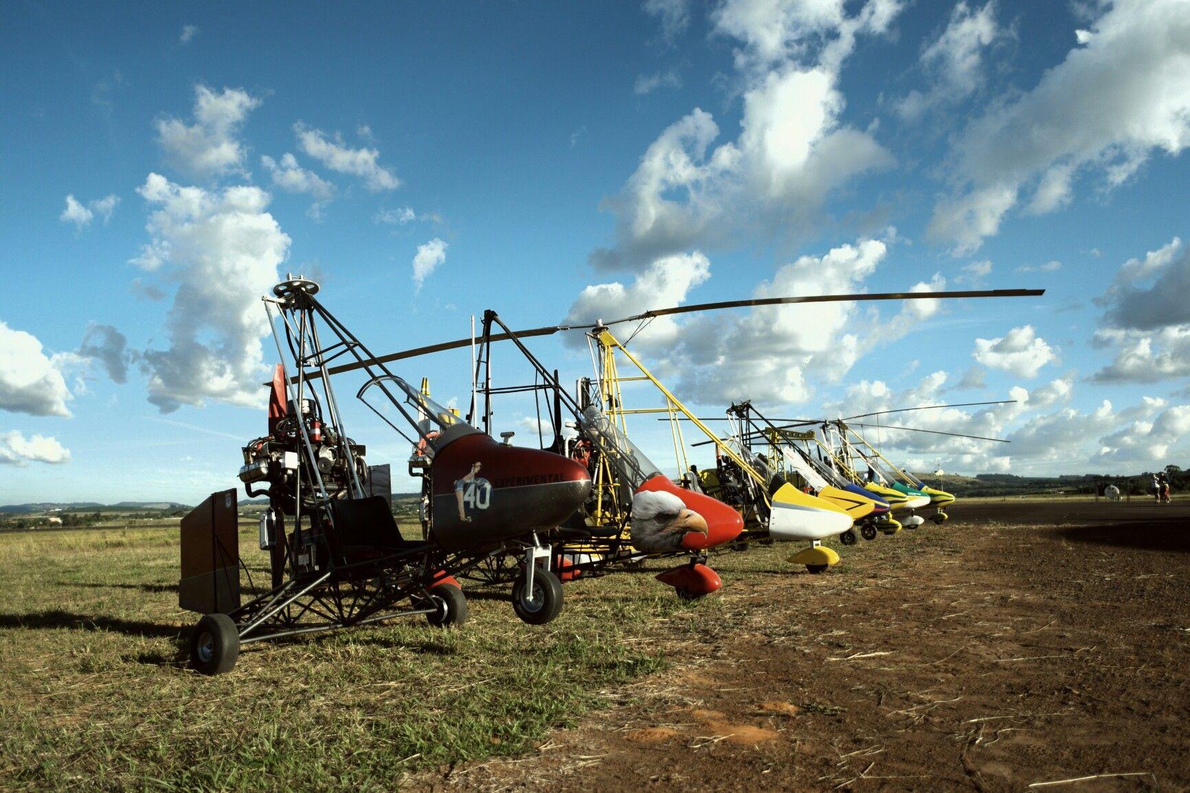 Encontro de girocoptero  São Sebastião  do Paraíso 2016