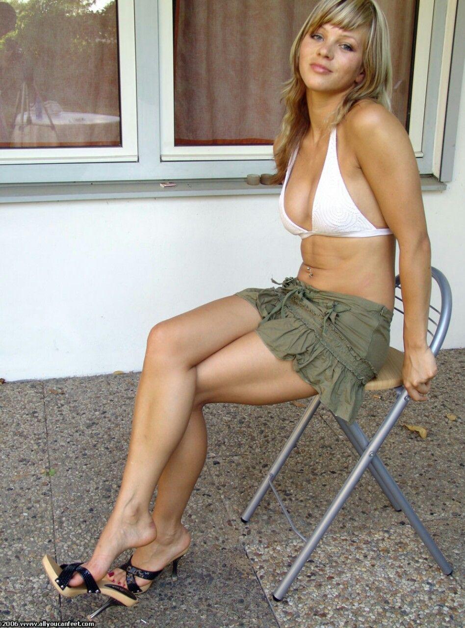 White Girl Legs