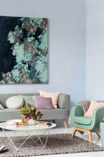 Pastell Wohnzimmer, Pastelltöne, Wohnzimmer Inspiration, Wohnzimmer Ideen,  Ideen Bodenbelag