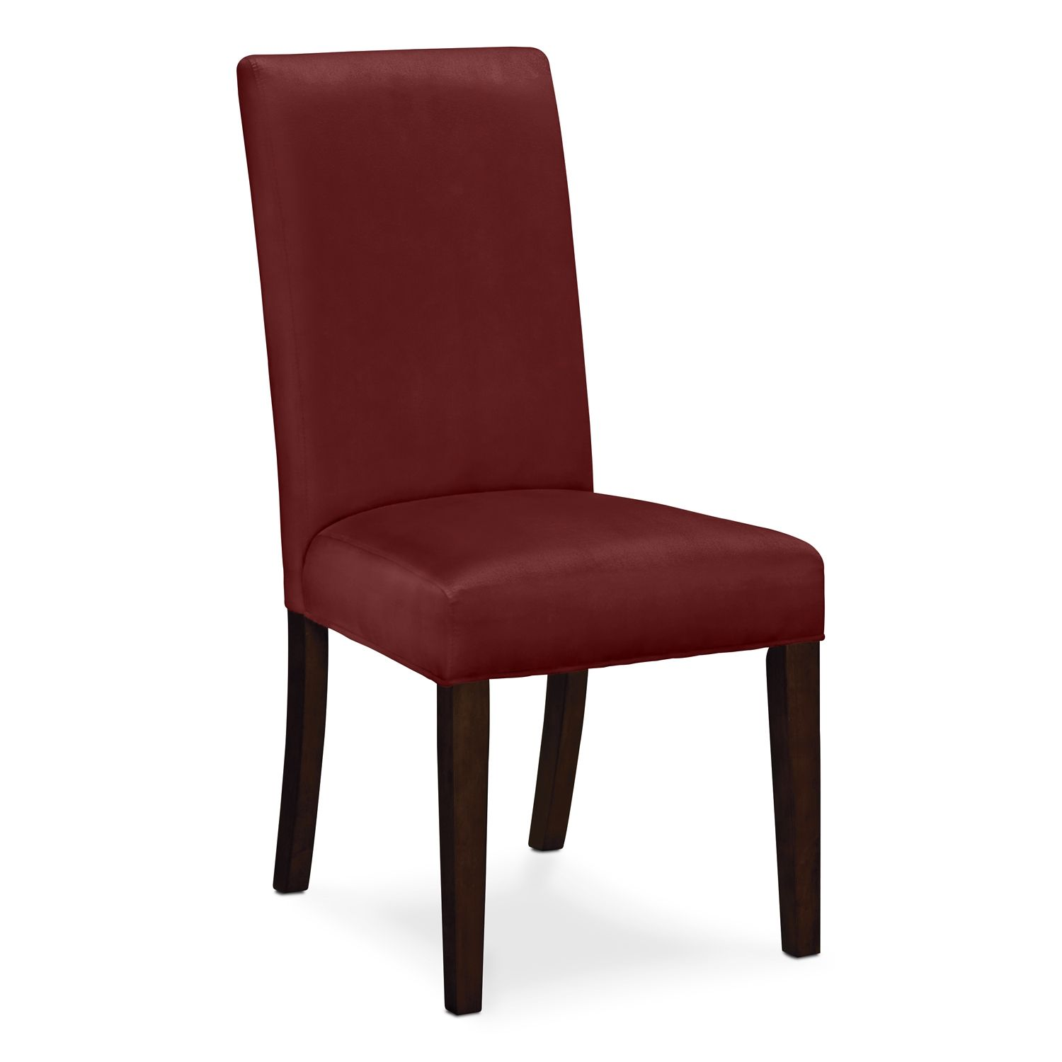 Alcove Red Dining Room Chair  Value City Furniture $69  Make Stunning Dining Room Chairs Red Design Ideas