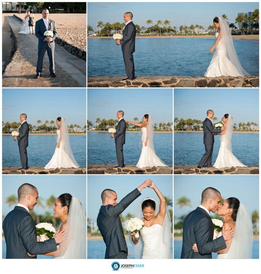 Waikiki Beach Wedding Ceremony: Halekoa-hotel-wedding-photos-waikiki-hawaii-(2-of-41