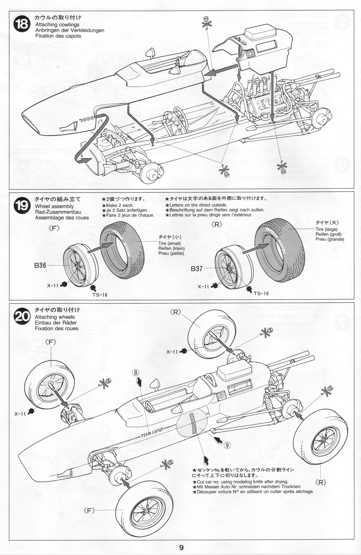 Pin on Tamiya 1/20 Lotus 25
