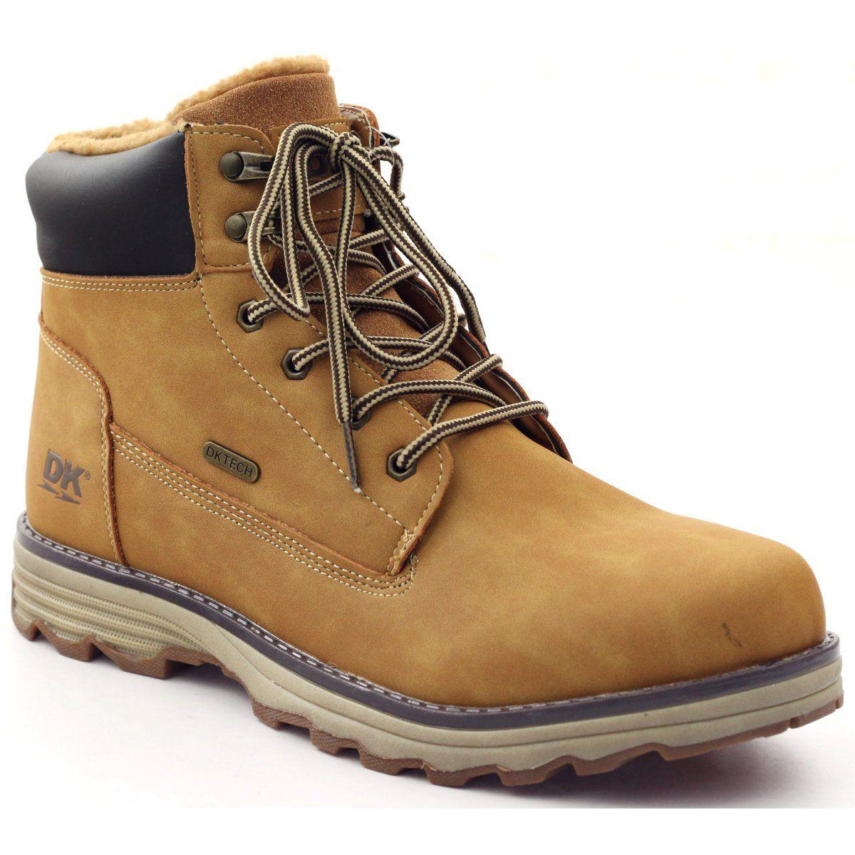 Trzewiki Meskie Futerko Dk 16me Zolte Wielokolorowe Boots Timberland Boots Shoes