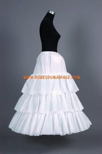 Jupon pour robe de mariée A-line pas cher
