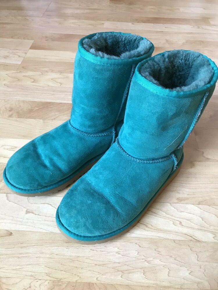 dde53a5de6d Ugg kids classic turquois boots big kids 6 fashion clothing shoes ...