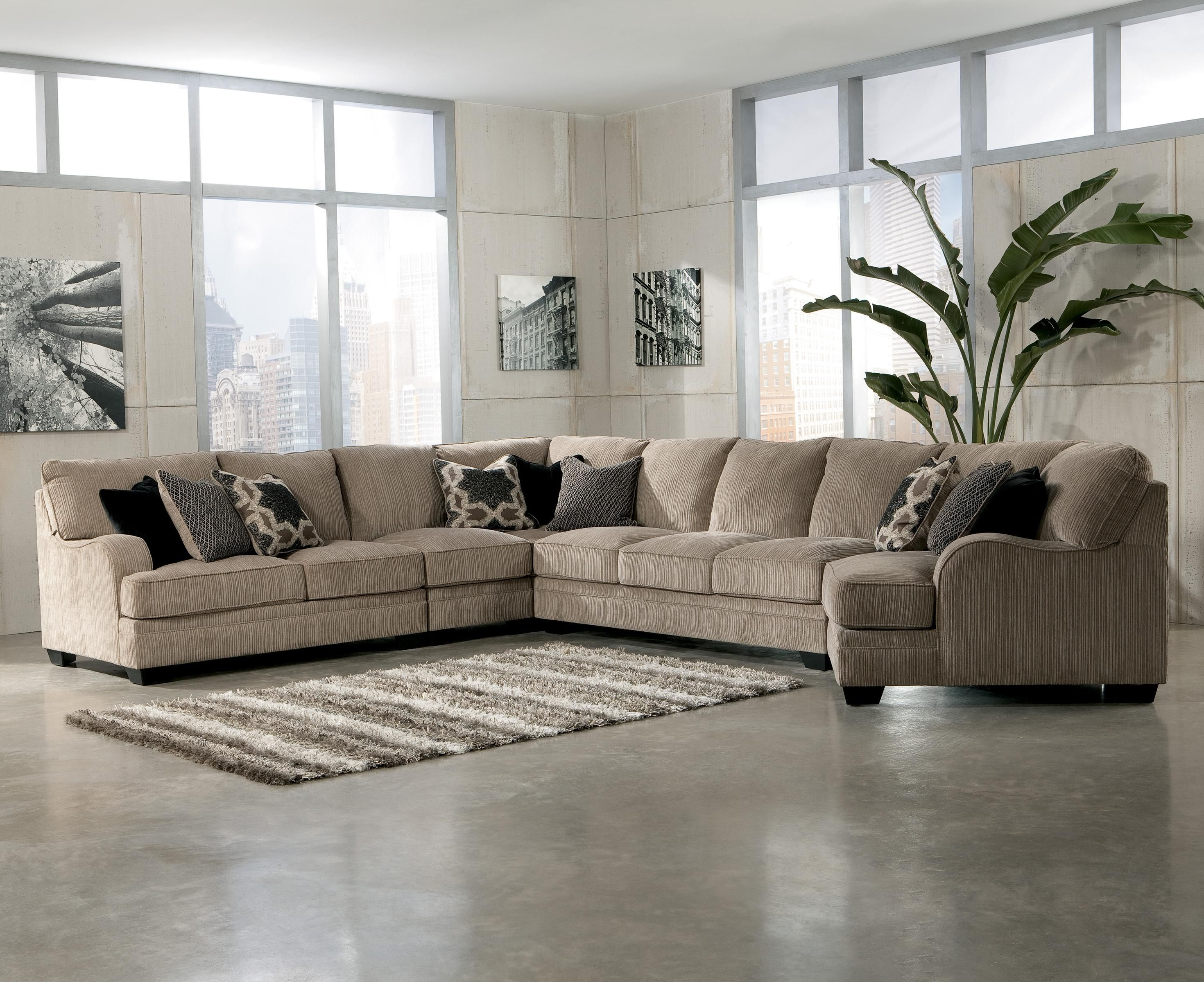 Attirant Comfortable Cuddler Sofa For Elegant Living Room Sofas Design: Ethan Allen  Sectional Sofa | Circular