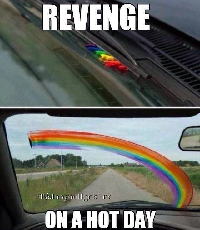 Evil pranks for revenge