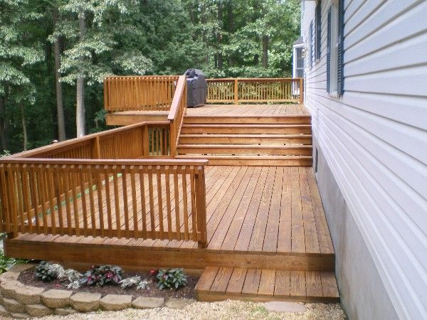 Site Builder Staining Deck Cedar Deck Stain Cedar Stain