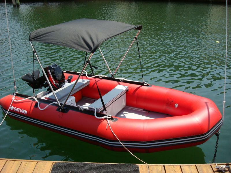 Do-it-yourself custom plans for sun shade canopy bimini top for Saturn inflatable boat. & Do-it-yourself plans for sun shade canopy bimini top for ...