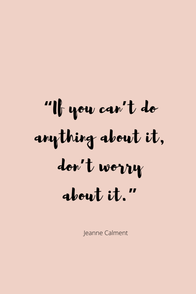 How To Stop Worrying & Start Living - NICOLEVALEK.COM