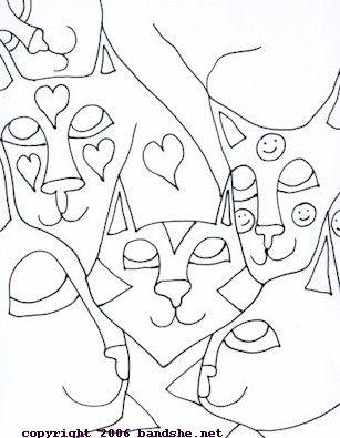 Abstract Art Coloring Pages Arte Para Criancas Arte Aprendizagem
