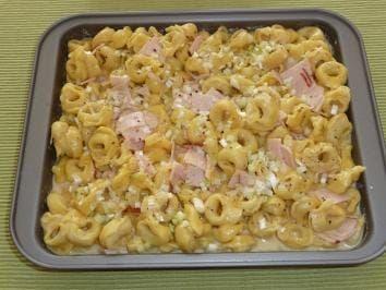 Photo of Tortellini – carbonara – casserole recipe