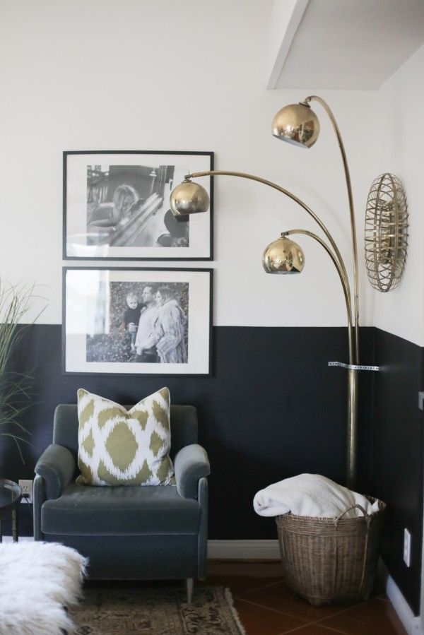 Half Painted Wall Ideas With Images Living Room Wall Half