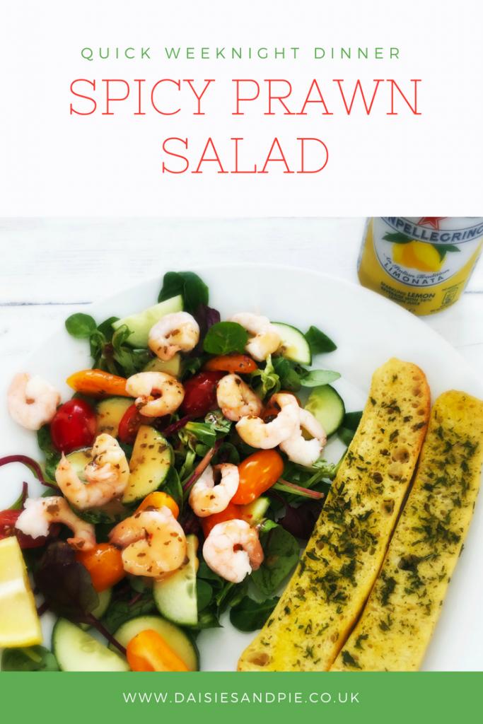 Quick Spicy Prawn Salad images