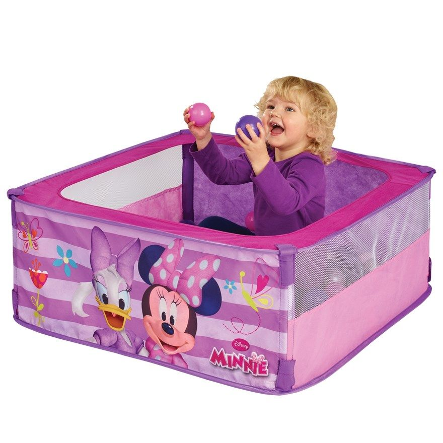 This easy to use pop up ball pit with favourite Minnie Mouse characters creates a safe  sc 1 st  Pinterest & This easy to use pop up ball pit with favourite Minnie Mouse ...