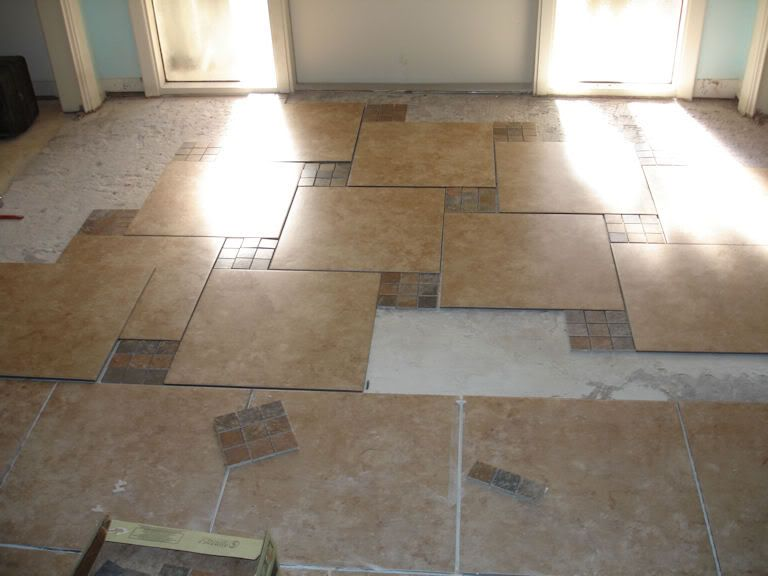 Entry Way Tile Porcelian Help Pls Pattern Too Busy Guy