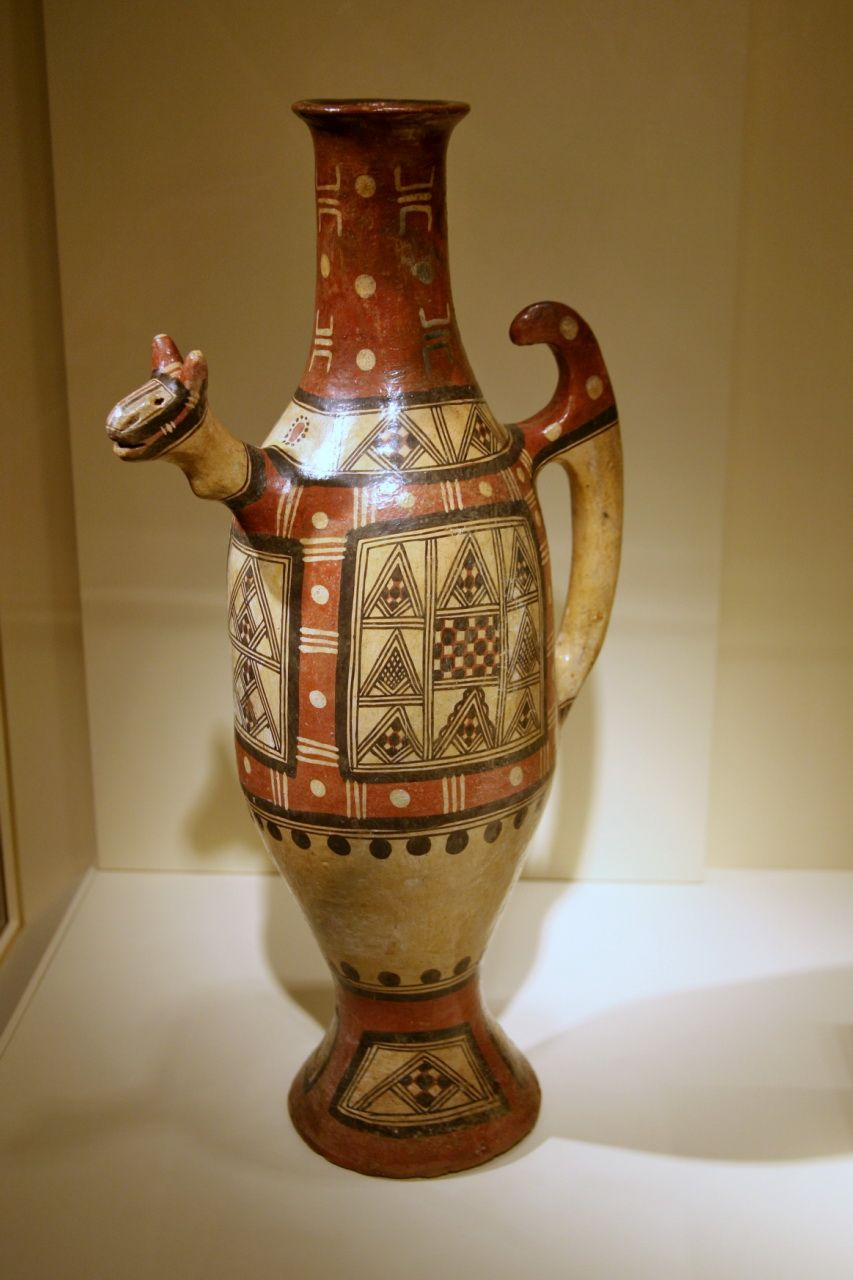 Jar, Kabyle peoples, Kabylie, Algeria, 19th century, Ceramic, pigment | African pottery, Ceramics, African art