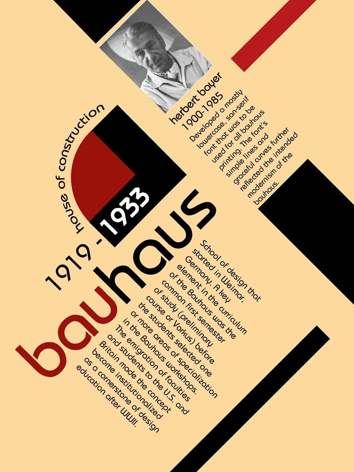 Poster design history - Bauhaus Graphic Design Poster Bauhaus Graphic Design Poster History