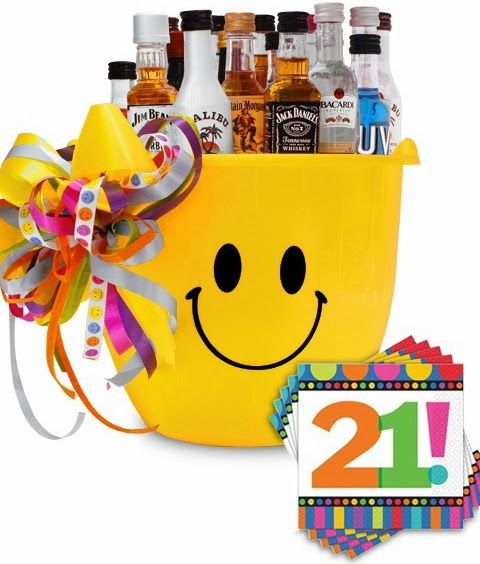Happy 21st Birthday Mini Bar Product Code S13092105 My Gift Set Put A Smile On Their Face And Celebrate