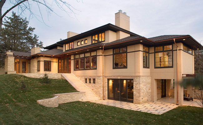 New Home Exteriors And Remodeled Home Exteriors For Minneapolis Homes     Stripe Around The House?