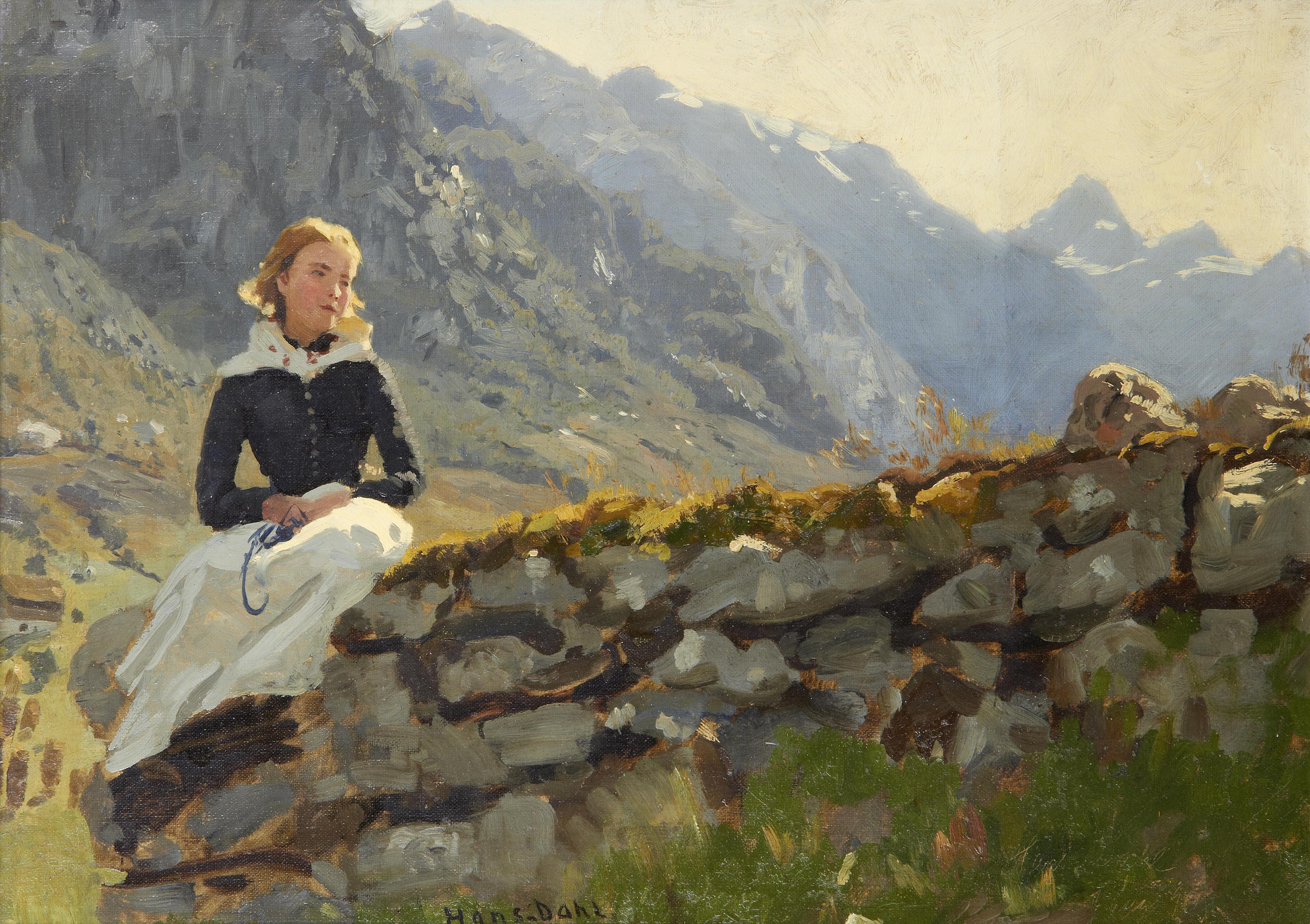 Hans Dahl Google Search Scandinavian Paintings Painting Canvas Art Prints