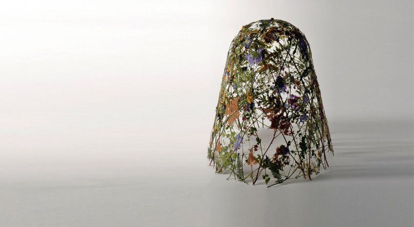 Eye Candy: Gorgeous Sculptures Made Only Out of Pressed Flowers
