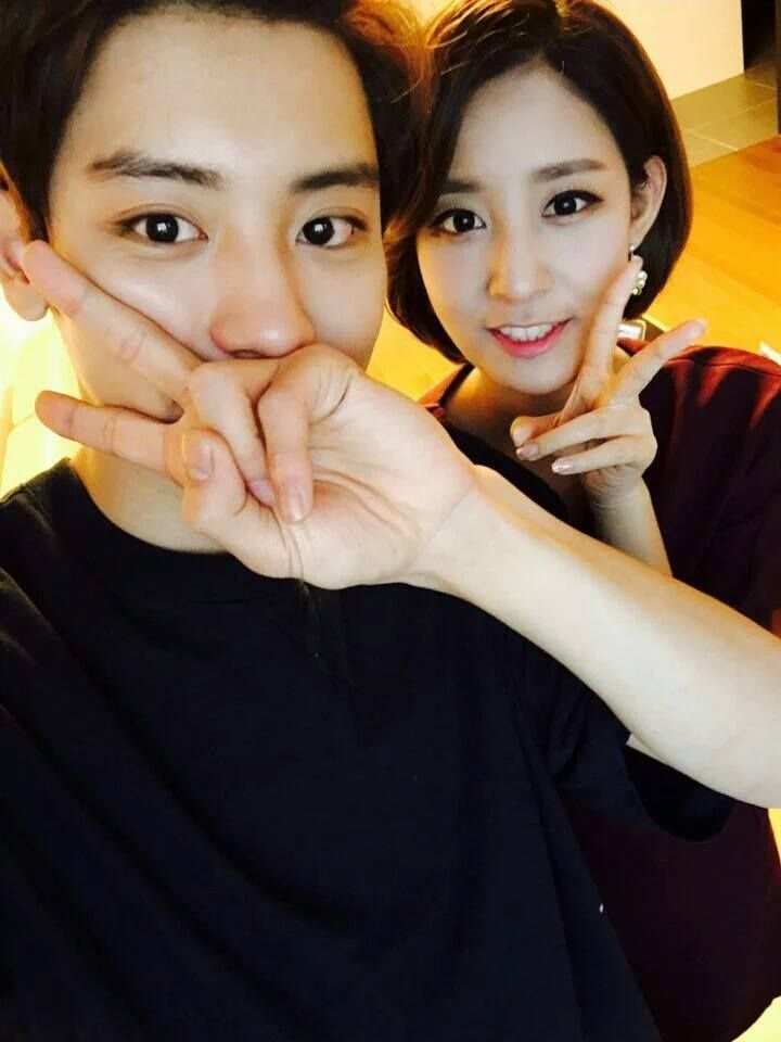 Viva Polo Facebook Update 160102 : Chanyeol and Yoora