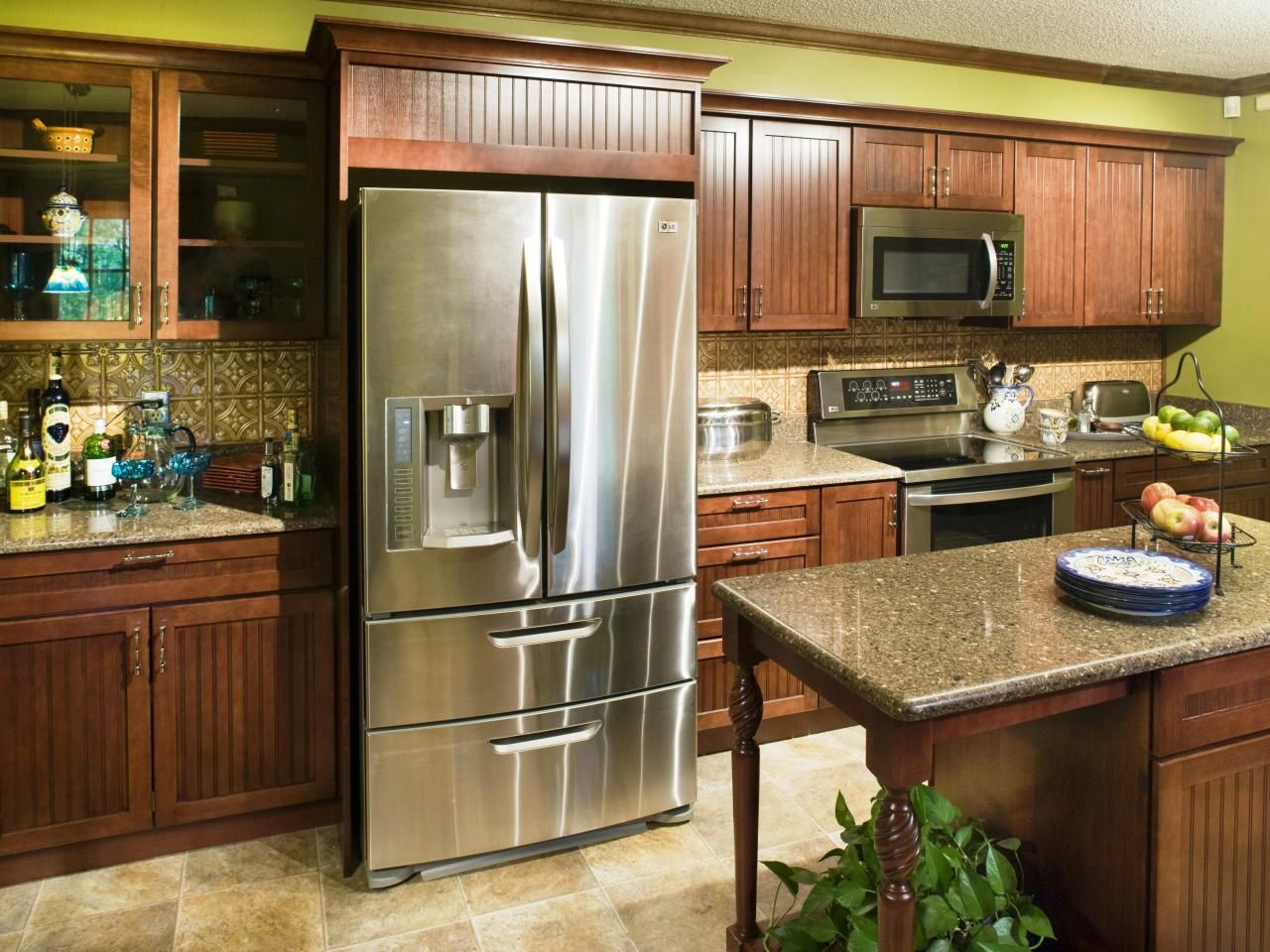 Completed Kitchen With Appliances Simple Kitchen Remodel Cheap Kitchen Remodel Kitchen Remodel Checklist