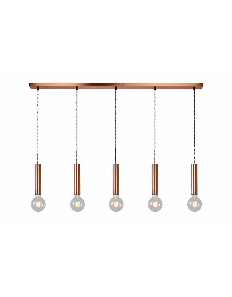 Ongekend Hanglamp boven eettafel metaal conisch E27x5 1,1m | Hanglamp YR-03