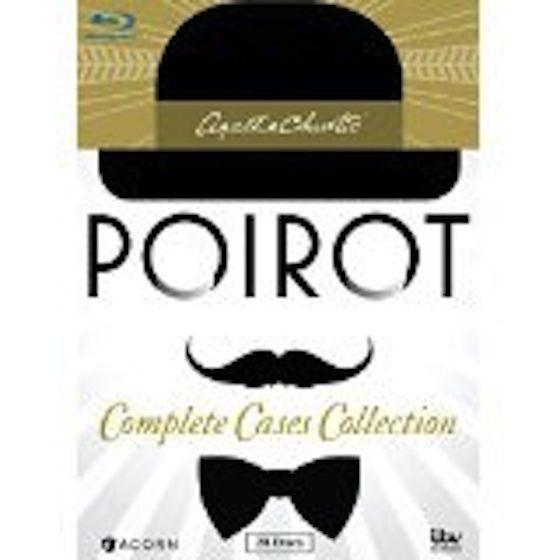 Agatha Christie S Poirot Complete Cases Collection Dvd New Sealed 33 Disc Set Agatha Christie Agatha Christie S Poirot Poirot