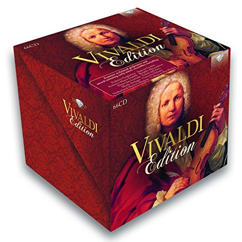 Vivaldi Edition  Vivaldi Edition A new, extended, improved and upgraded Vivaldi Edition! The master of Italian Baroque music is indisputably Antonio Vivaldi. Throughout his life, he composed hundreds of works, and is remembered perhaps second only to J.S. Bach, ranking as one of the most popular composers of all time. His oeuvre crosses an extraordinarily wide range, from instrumental compositions of all types to sacred cantatas and operatic works, a vast number of which are presente..