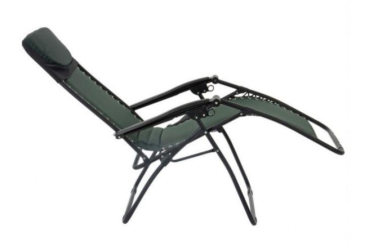 Amazing Zero Gravity Padded Reclining Sun Lounger Green In 2019 Machost Co Dining Chair Design Ideas Machostcouk