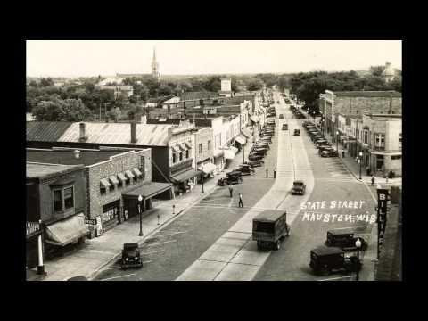 historic mauston wiin vintage postcards