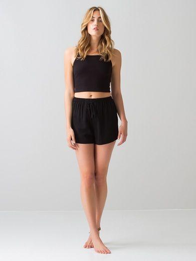 Elli shorts | 7181571 | Svart | BikBok | Sverige