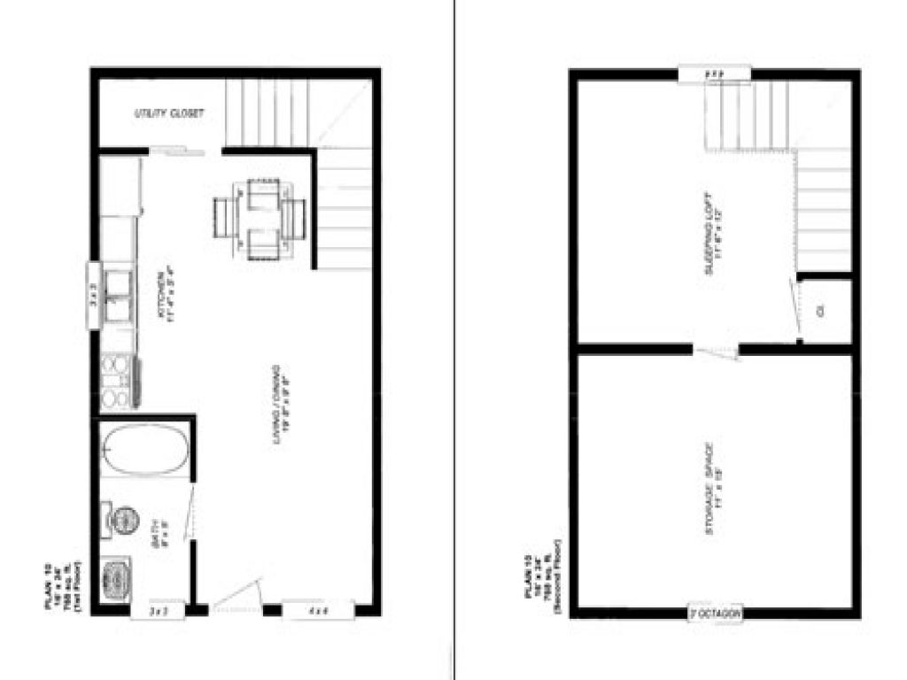cabin floor plans lrg also story tiny house plan Home Design
