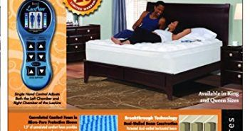 new pure form 6200 dual air chambered mattress adjustable firmness pick size - Adjustable Firmness Mattress