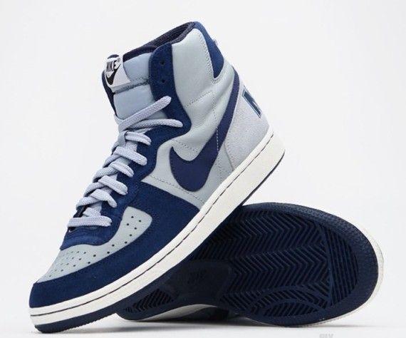 "online store 33851 11b72 Georgetown Hoyas shoes  Nike Terminator High VNTG ""Hoyas"""