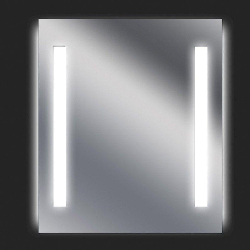 Miroir Lumineux Avec Eclairage Integre X L 60 X H 70 Cm Ayo Leroy Merlin Miroir De Salle De Bain Miroir Lumineux Miroir Salle De Bain