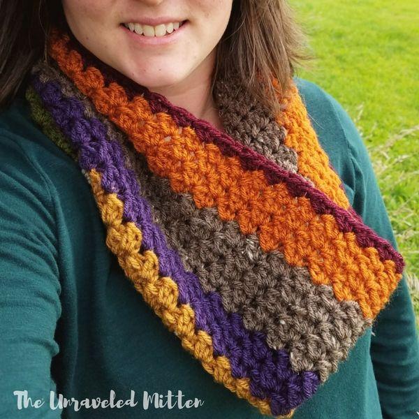 Wildwood Cowl Crochet Pattern