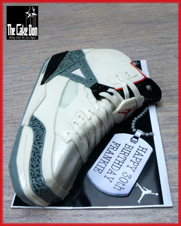 THE AIR JORDAN Cake by THE CAKE DON