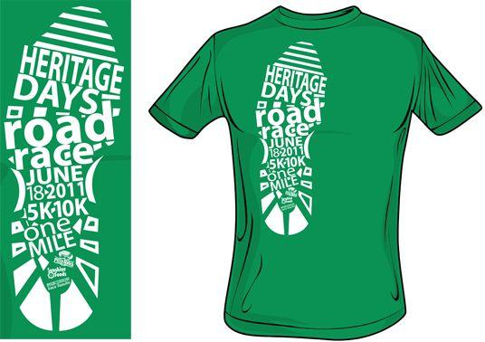 Aaron Mitchell Maine Lobnster Festival 10K Road Race Shirt | Design  Inspiration | Pinterest