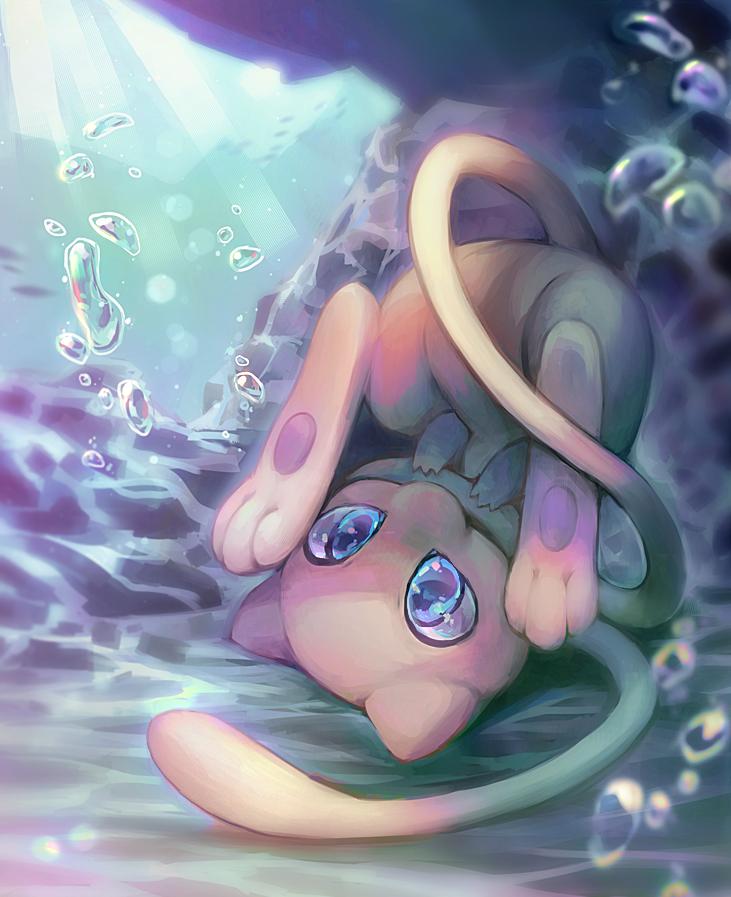 Pokémon 151 Mew Art By Kawiku Deviantart Pokémon Standard
