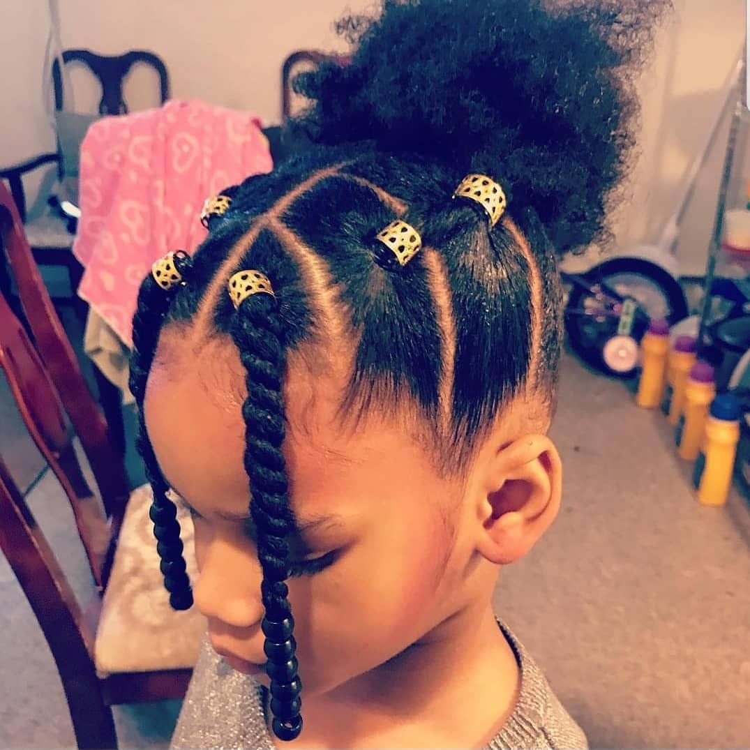 Enjoyable Kidshairstyles Kidsbraids On Instagram Featured Tanyaaudrey Natural Hairstyles Runnerswayorg