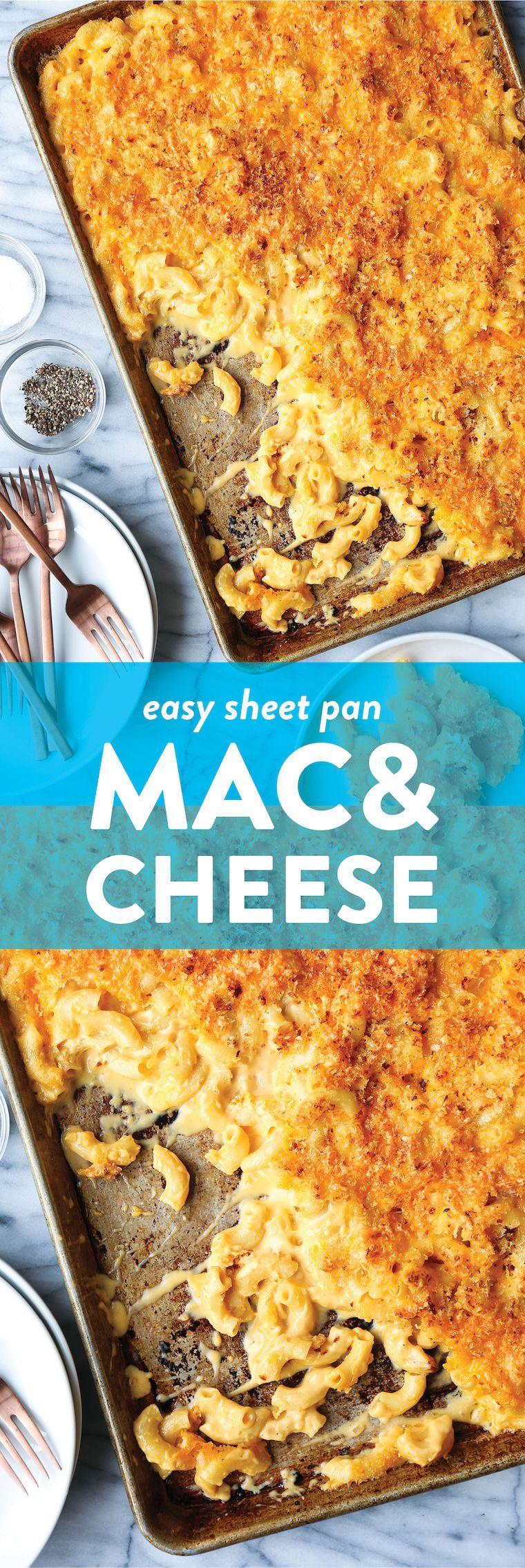 Sheet Pan Mac and Cheese -