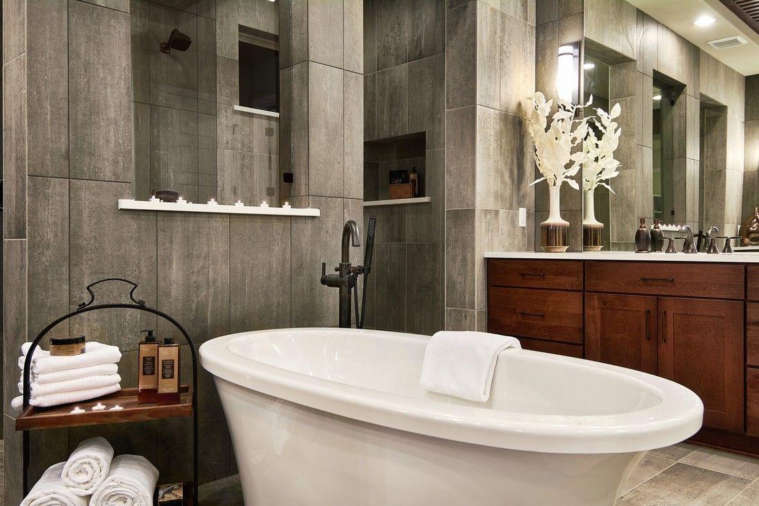 Master Bathroom Hill Country Artisan Custom Homes La Ventana