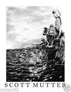 Scott Mutter Poster//Print///'Horse in the Train/'// 17X22 inch