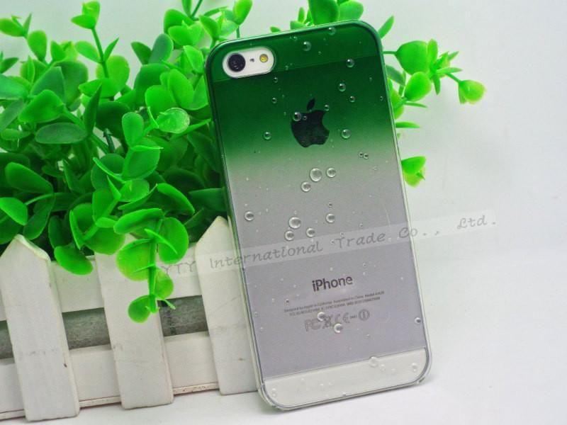 phone shell fresh raindrops Gradient case for iphone5 phone protective cover protective shell