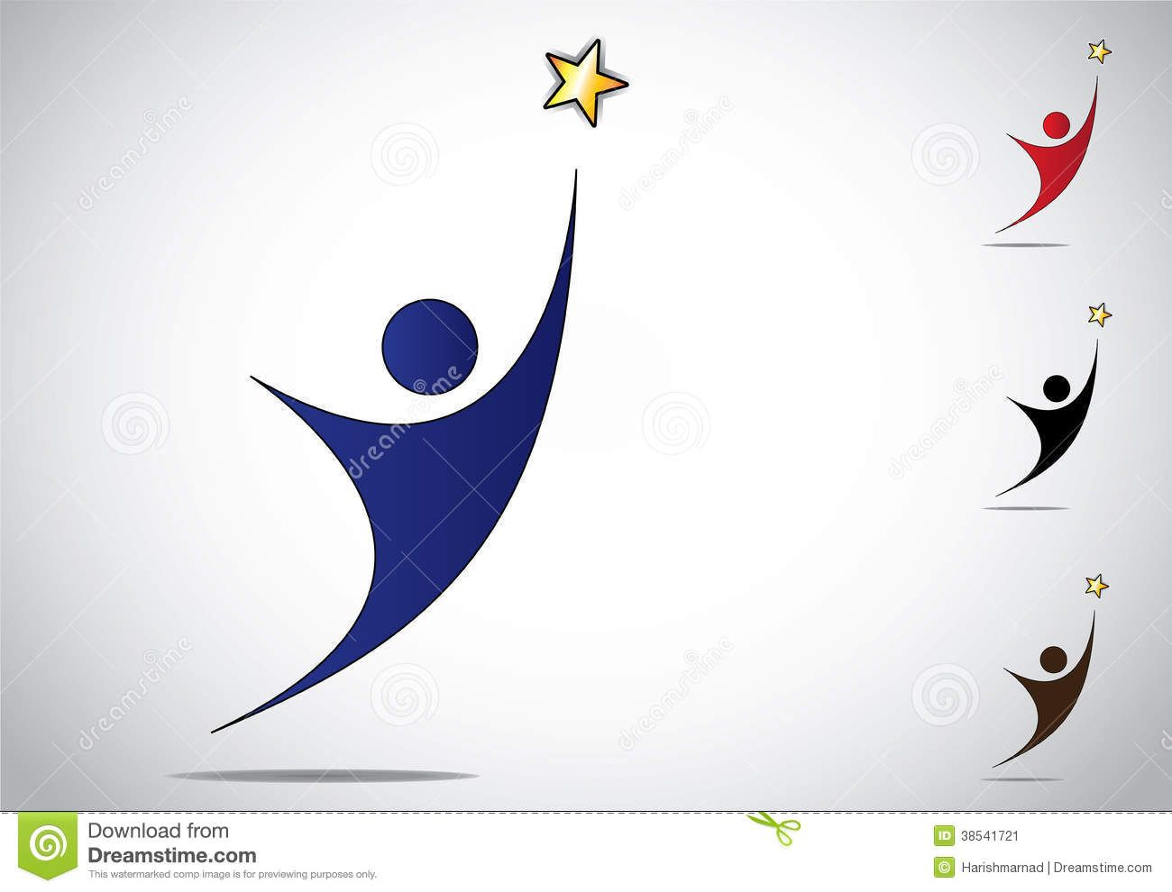 Symbol for successful colorful person winning or achievement symbol for successful colorful person winning or achievement success symbol icon an biocorpaavc Images
