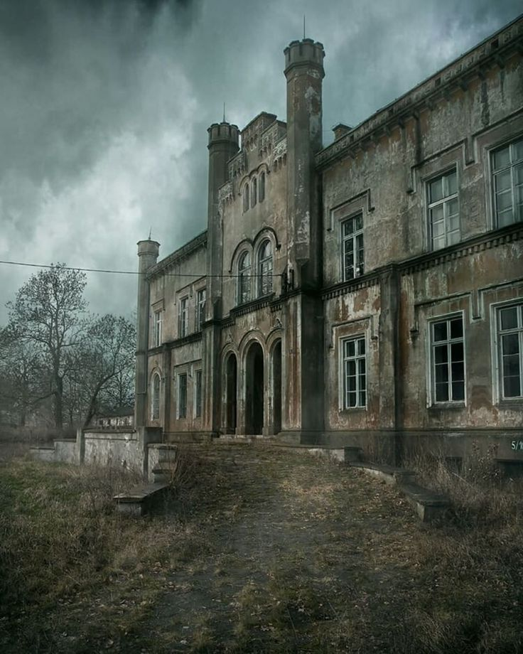 Abandoned Mansion For Sale